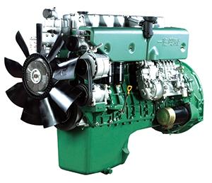 Inició su negocio por tercera vez Producción de prueba exitosa del motor diésel CA6DL