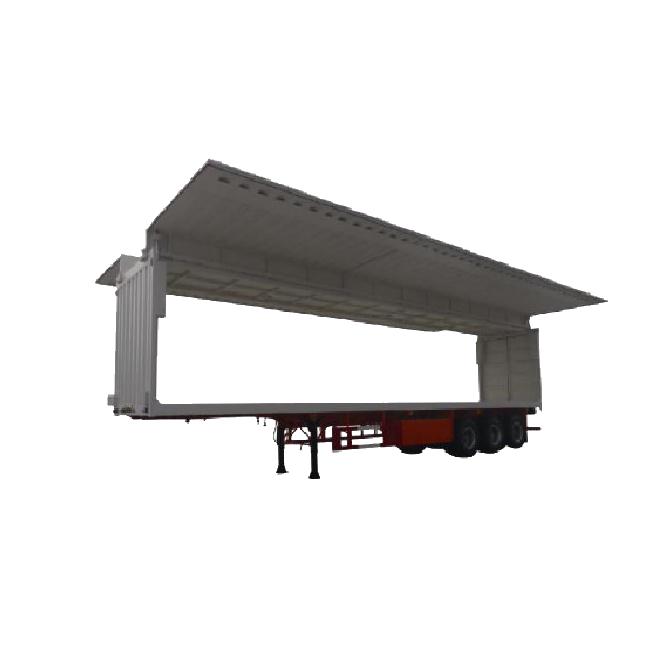 Wing Open Semi-trailer Van